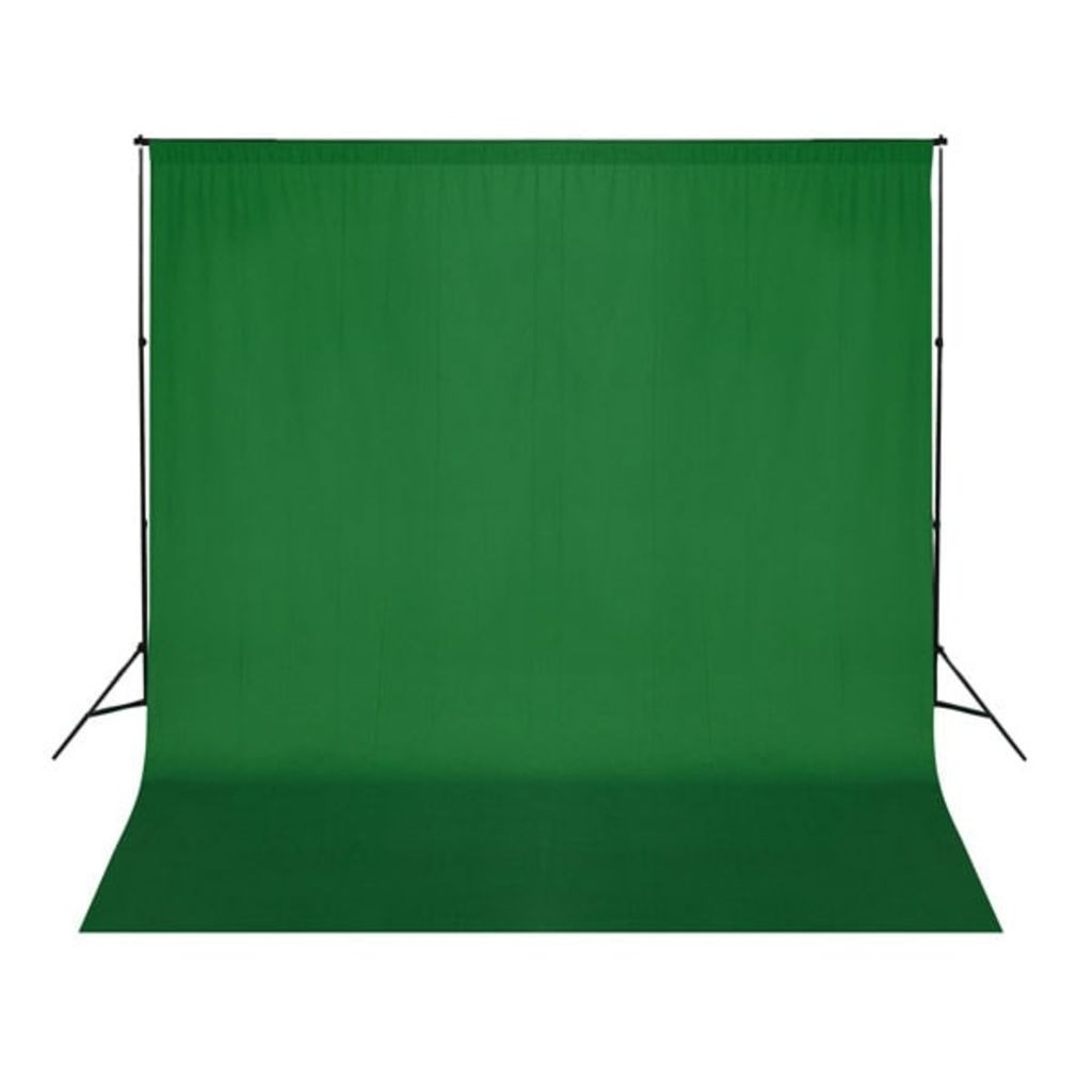 photographic backdrop 3,0 x 3,0 m., green