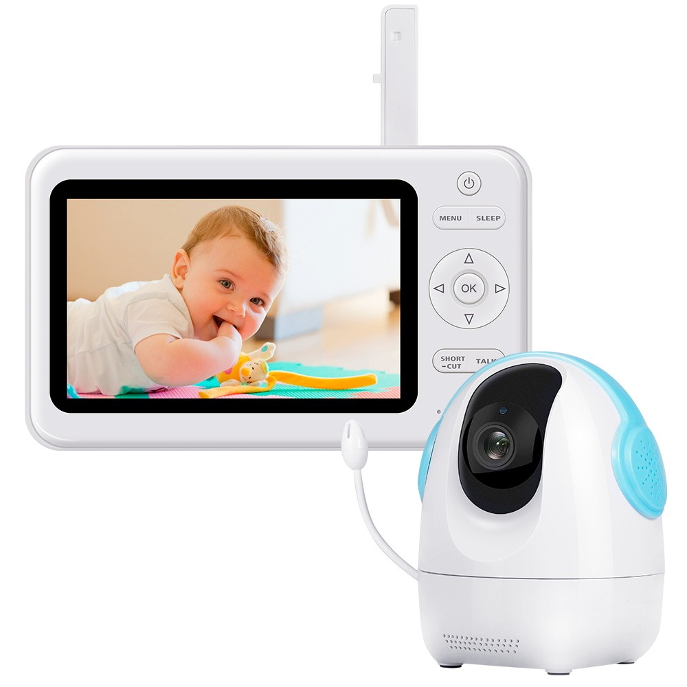 2.4GHz Wireless Baby Monitor with 5