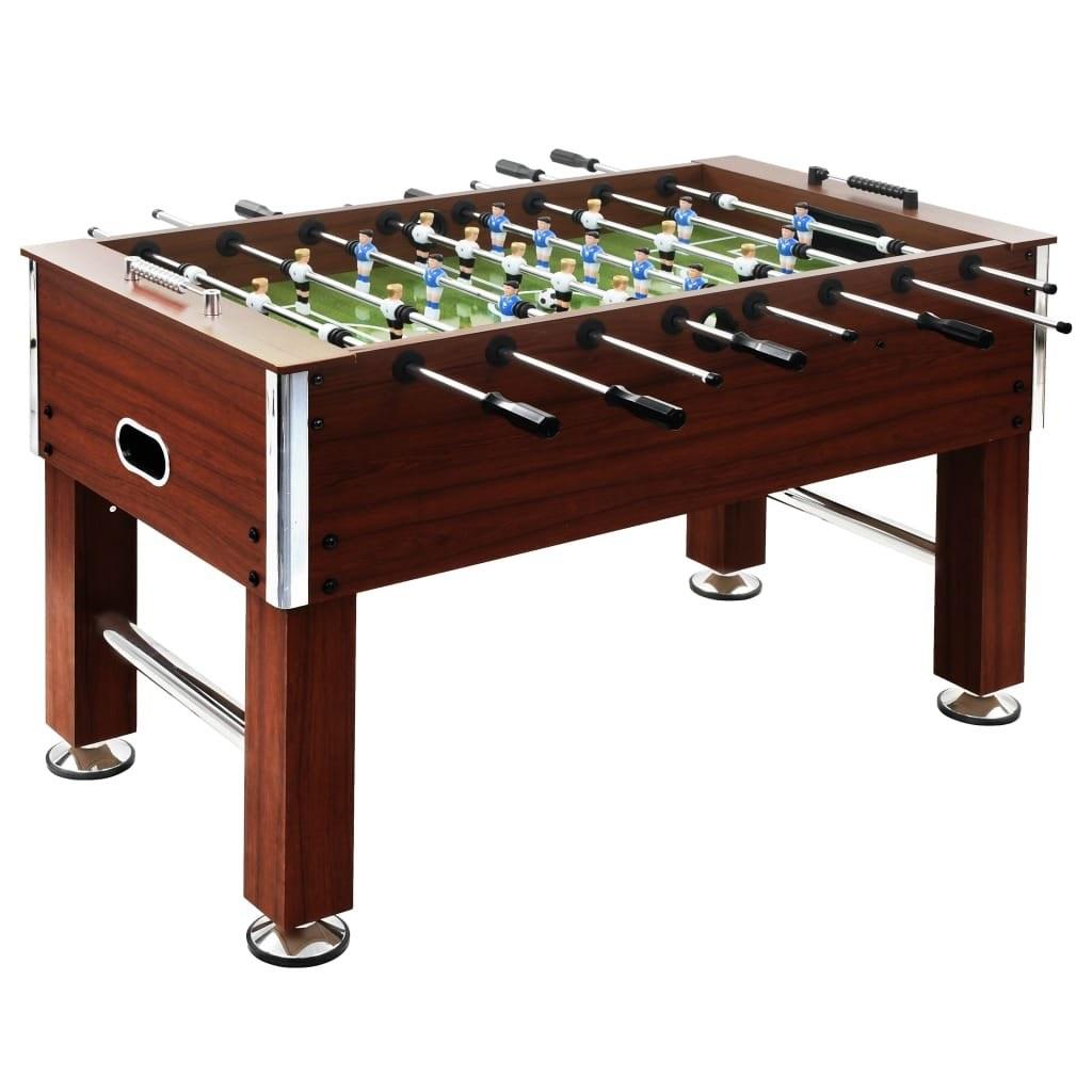 Football table 60 kg 140 x 74,5 x 87,5 cm Brown