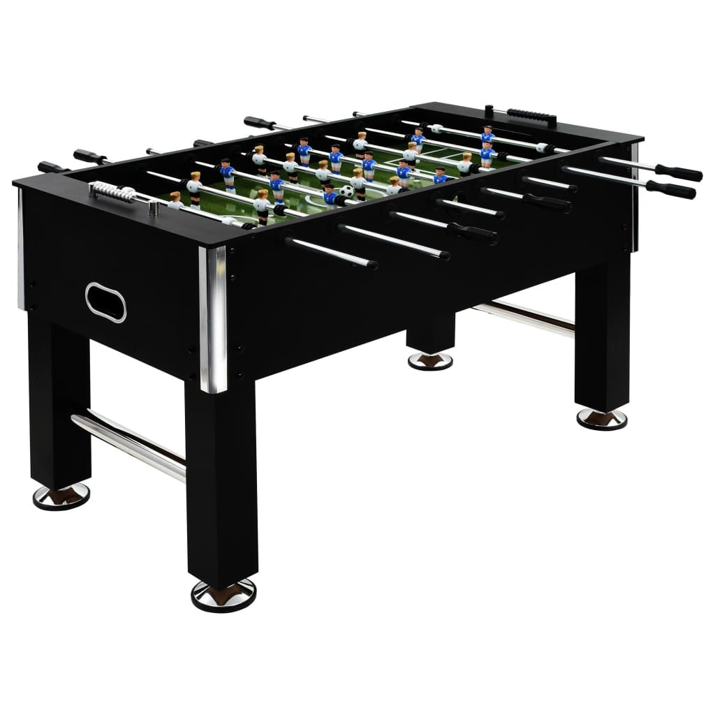 Football table Steel 60 kg 140 x 74,5 x 87,5 cm Black
