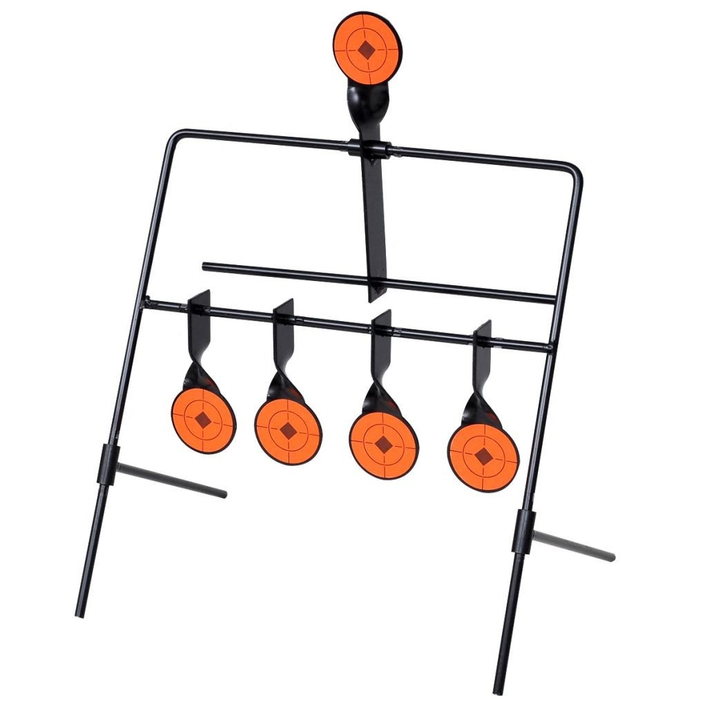 Shooting Target 4 + 1 automatic reset targets