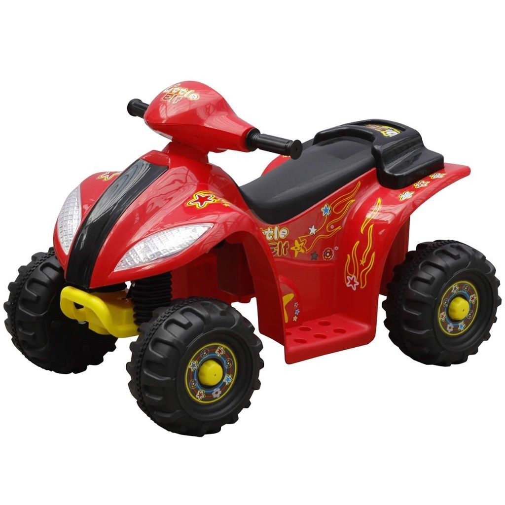 electric quad for children Red and Black