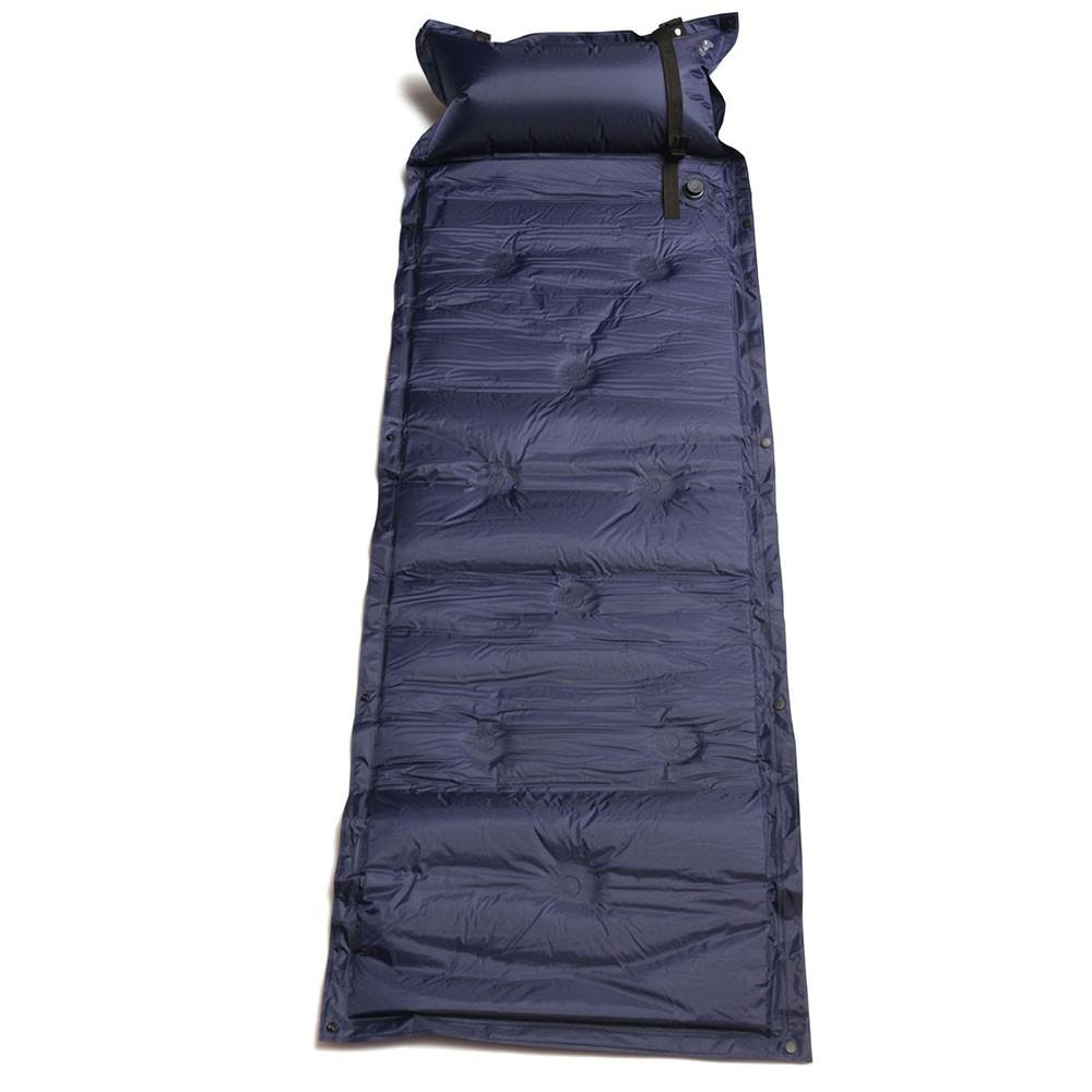 Self Inflating Air Mattress Mat Pad Pillow Sleeping Bed Camping Hiking Outdoor