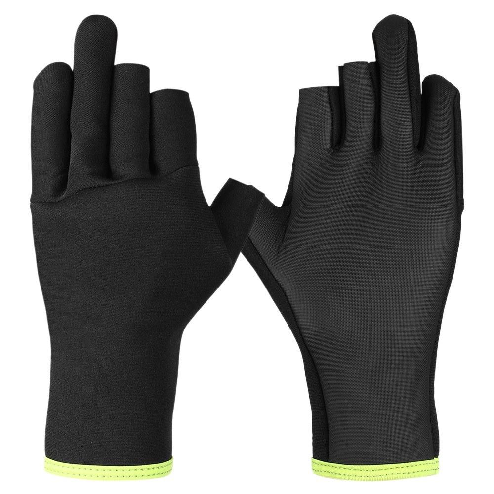 Neoprene Fishing Gloves for Men 3 Fingerless Anti-Slip Water Resistant Outdoor Sports Fly Fishing Gloves