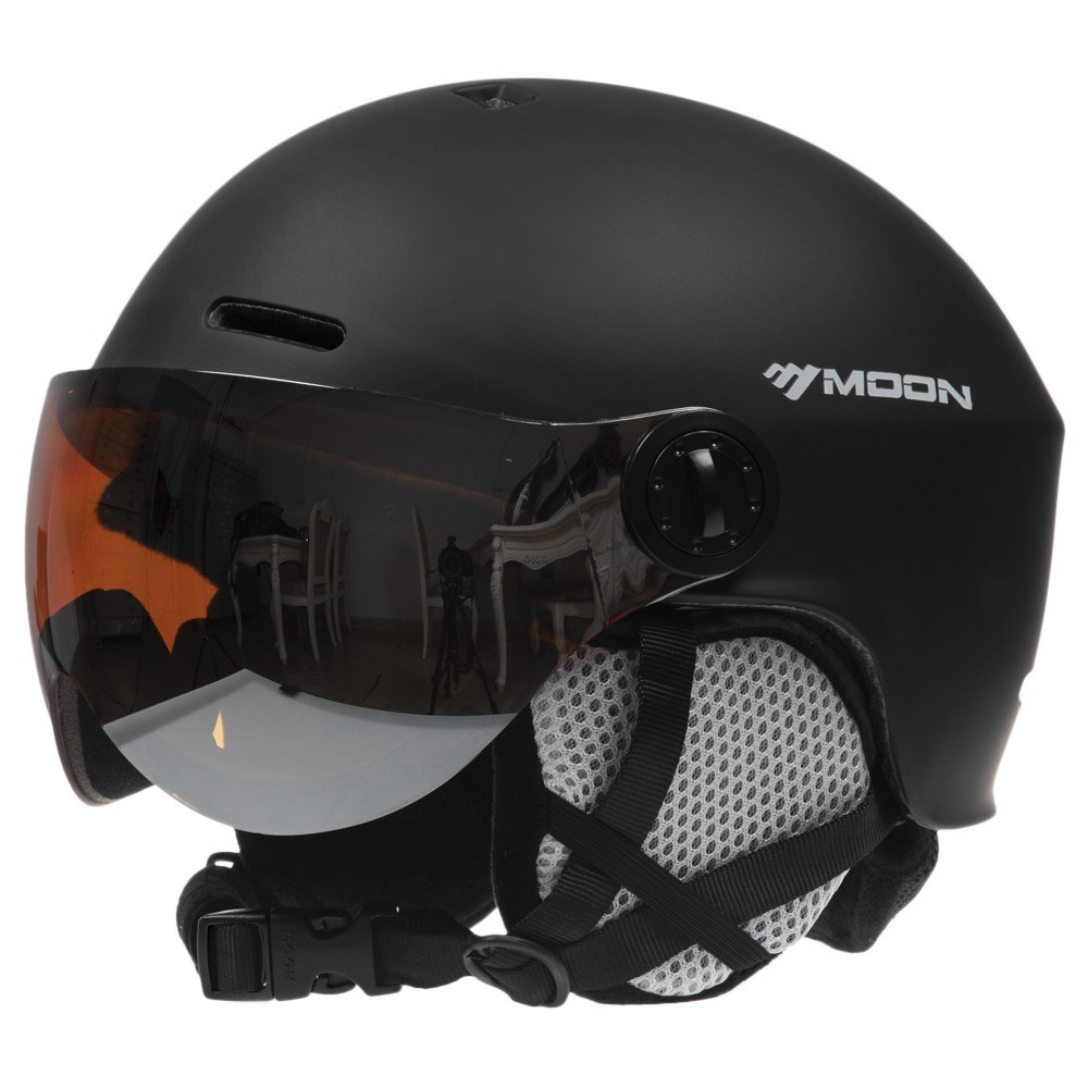 Snowboard Helmet with Earmuff Goggle Men Women Safety Skiing Helmet Professional Skiing Snow Sports Helmet