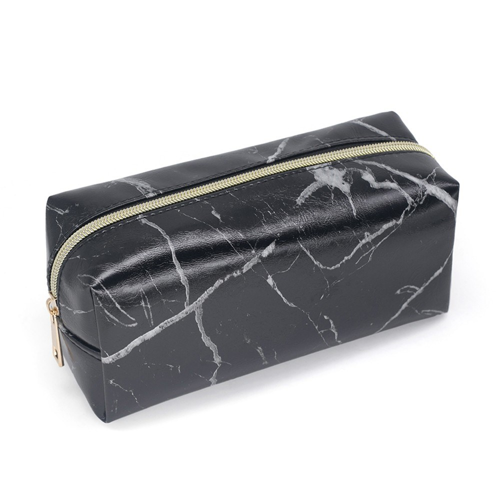 Marble Makeup Bag Portable Cosmetics Pouch Large Capacity Storage Case Travel Organizer