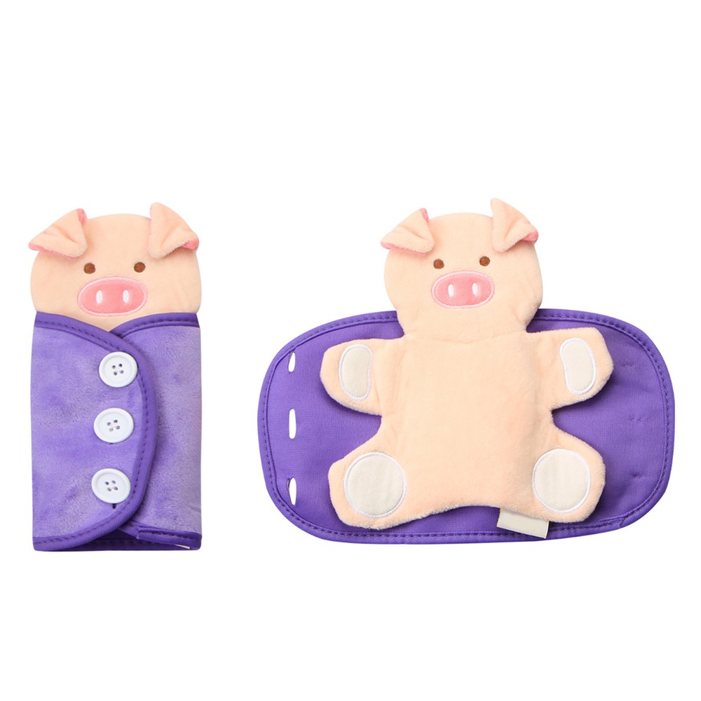 Early Learning Cartoon Pig Model Wearing Clothes Dressing Clothes Baby Kids Educational Toy