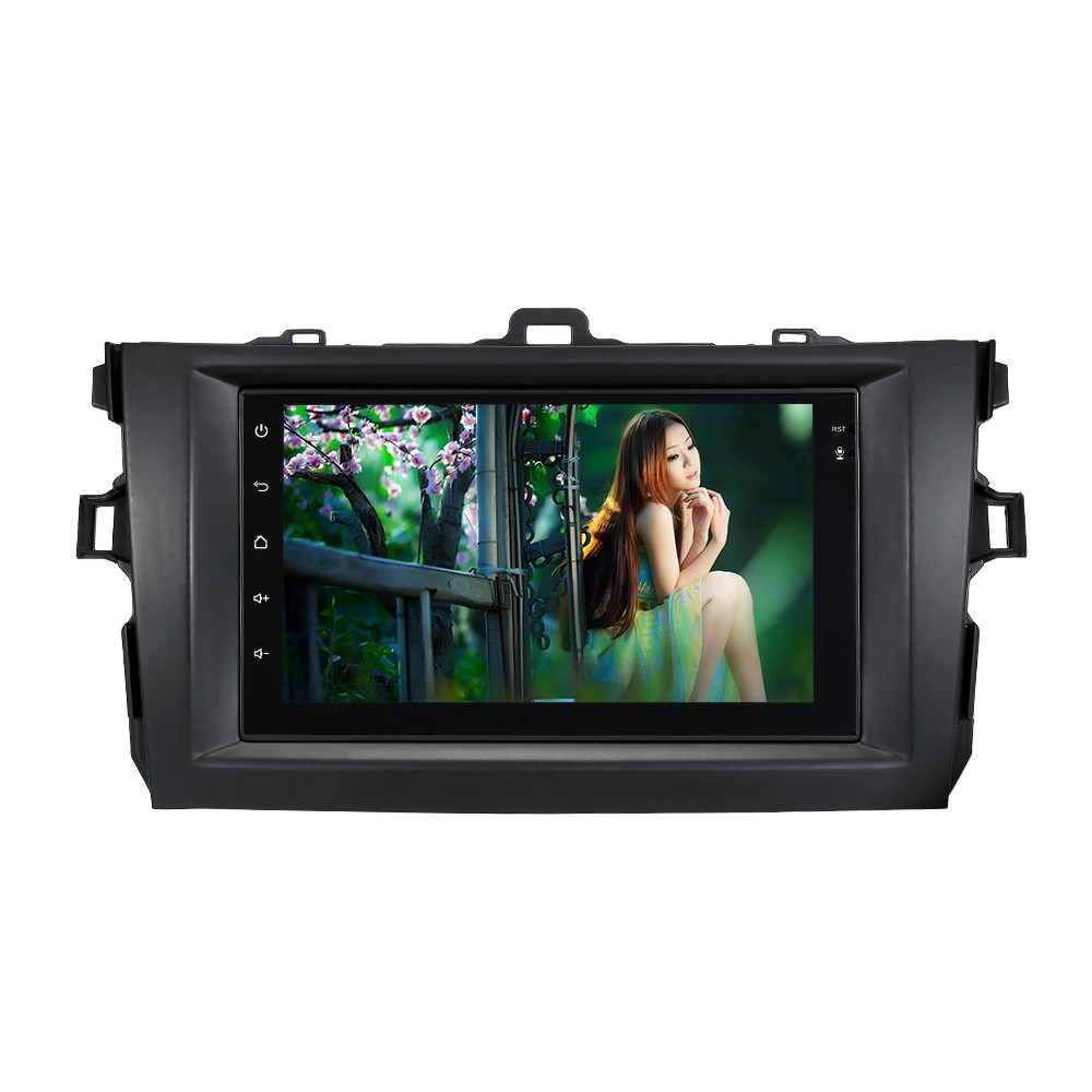 7'' Smart Android 6.0 2 Din Car Stereo Radio Player GPS Navigation with BT WIFI AM/FM Fit for Toyota Corolla 2008-2010