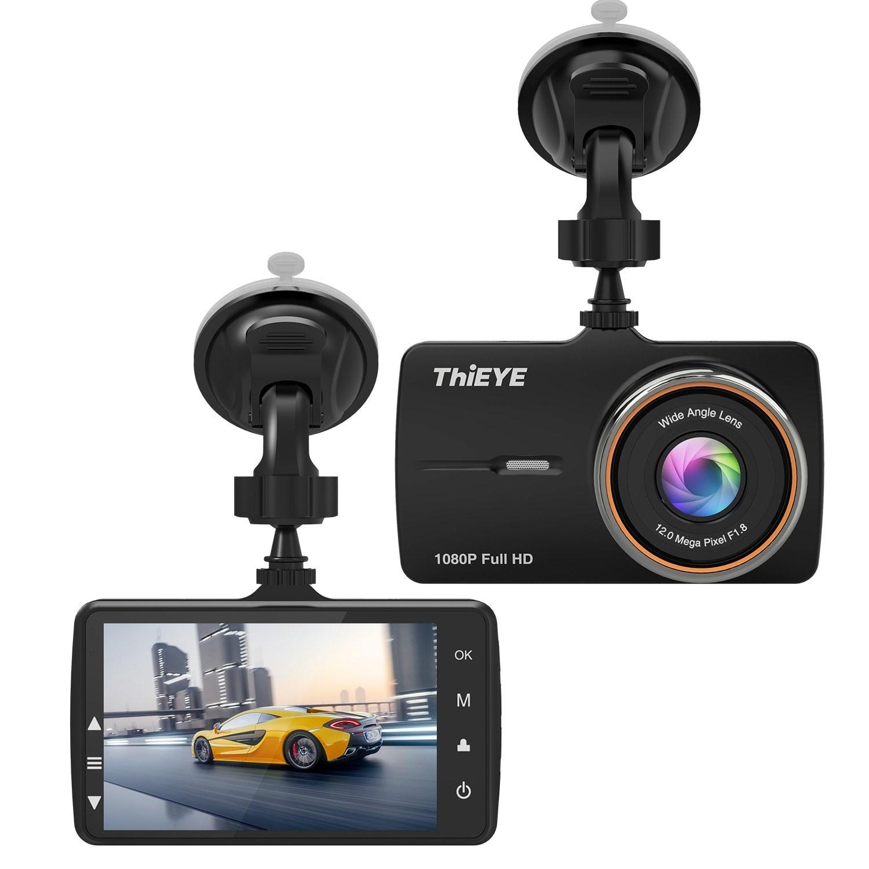 ThiEYE 1080P FHD Dual Lens Dash Cam Car Driving Recorder Car DVR Loop Recording G-ensor Parking Monitor