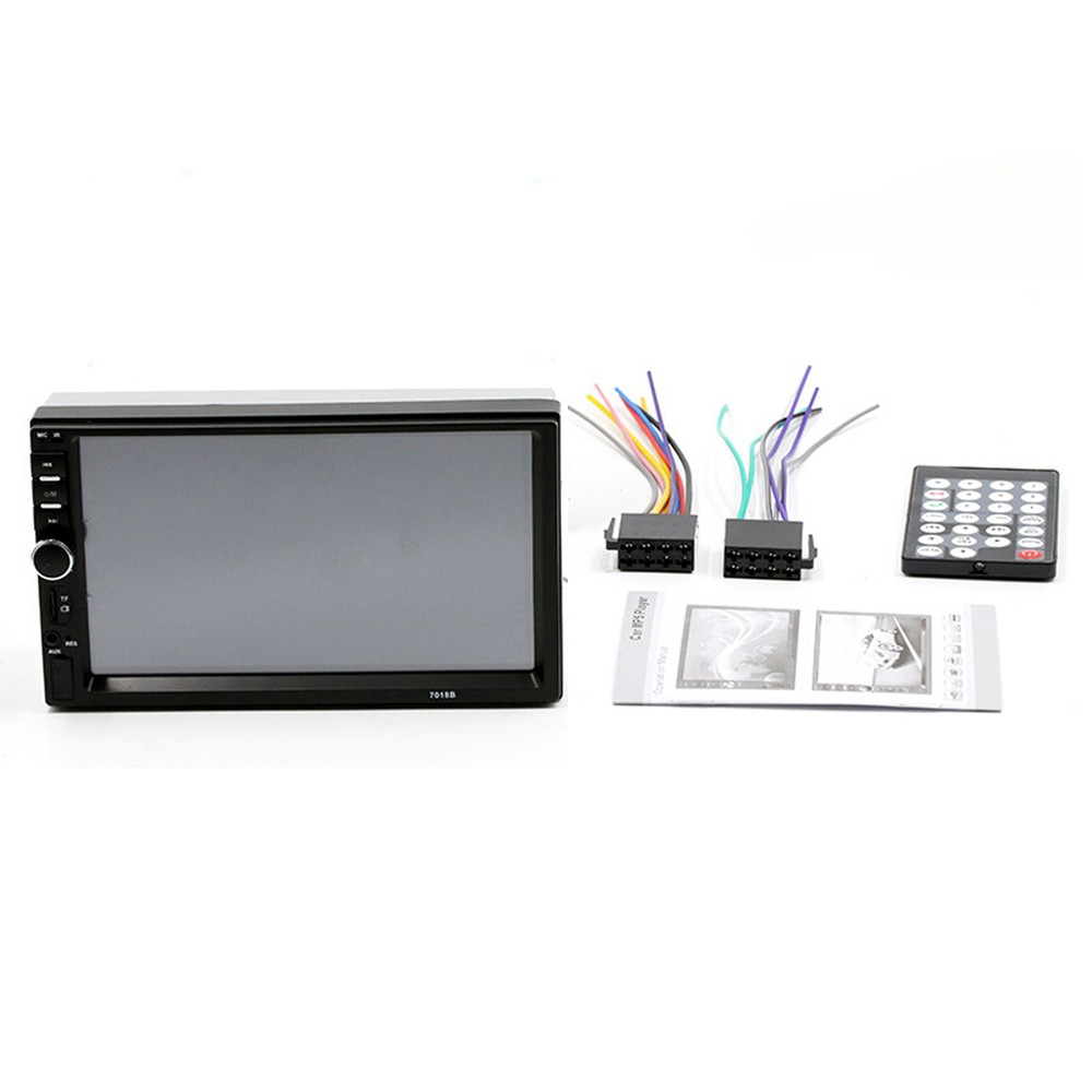 7018 7in Car Stereo Radio MP5 Player FM USB AUX BT Touched Screen Auto Multimedia Player