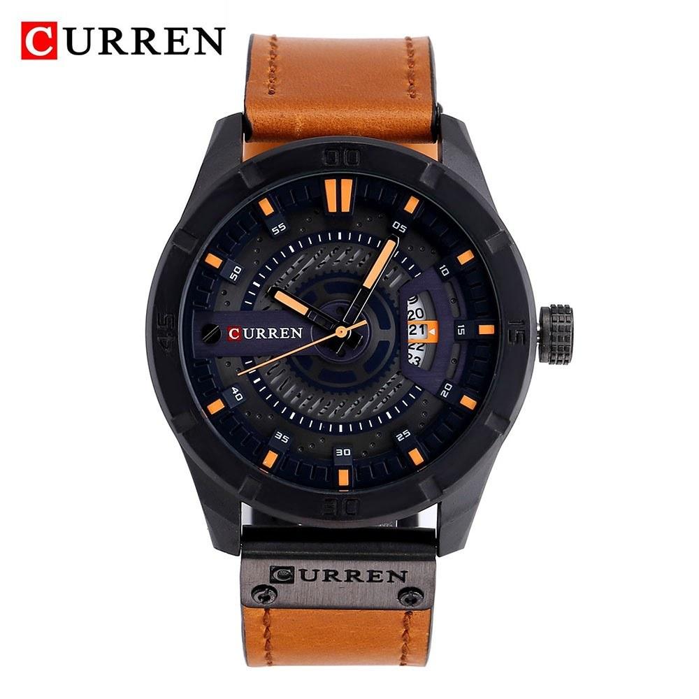 Curren Men Watch Business Multifuntional Waterproof Watches Quartz Watch