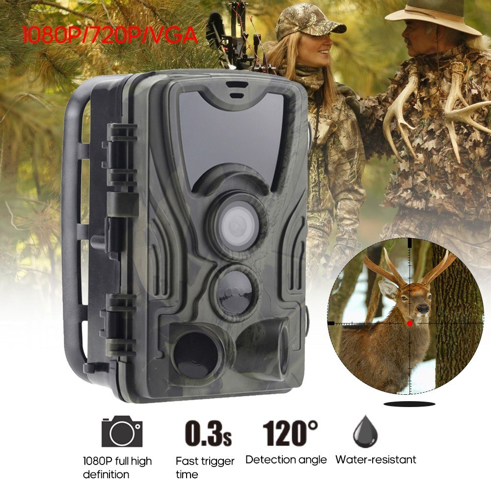 "2.0"" LEDs Screen Hunt-ing Trial Camera 16MP 1080P H-D 940nm IR IP65 Waterproof Game Camera Security Scouting"