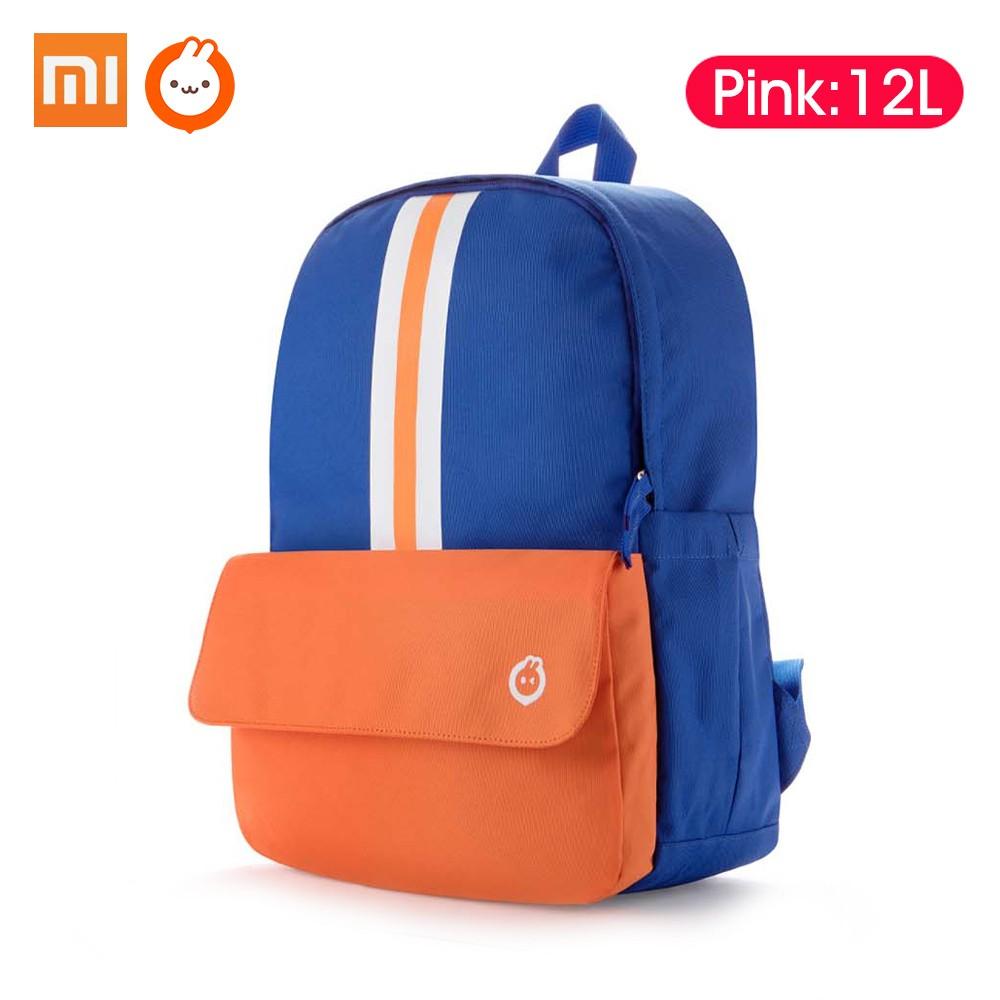 Xiaomi Youpin  Xiaoxun Children Shoulder Strap Backpack School Bag Light Weight Sturdy Resistant Waterproof Rucksack 8L/12L