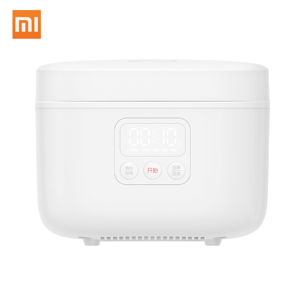 Xiaomi Mijia Electric Rice Cooker Warmer 4L 890W 24Hrs Timing Dual Temperature Probe LED Display 220V Non Stick Smart Cooking APP WiFi Linkage