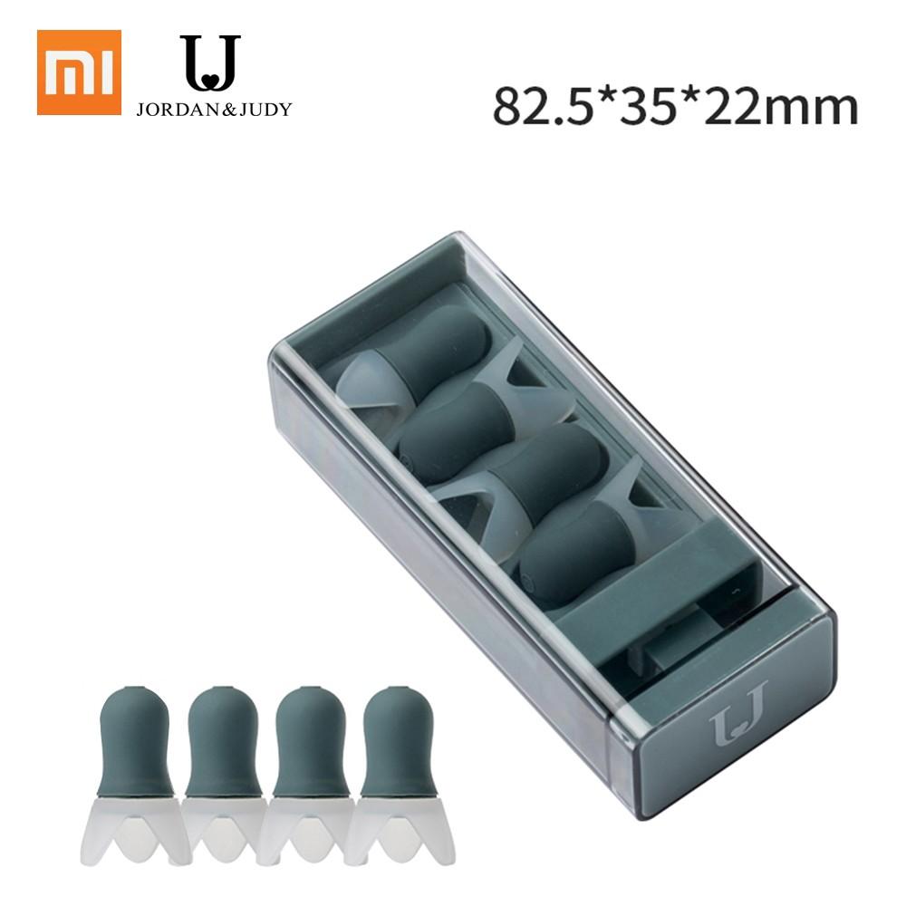 Xiaomi Youpin Jordan Judy Soundproof Earplugs Mute Professional Noise Reduction Light Soft Silicone Sleeping Foam Travel Earplugs