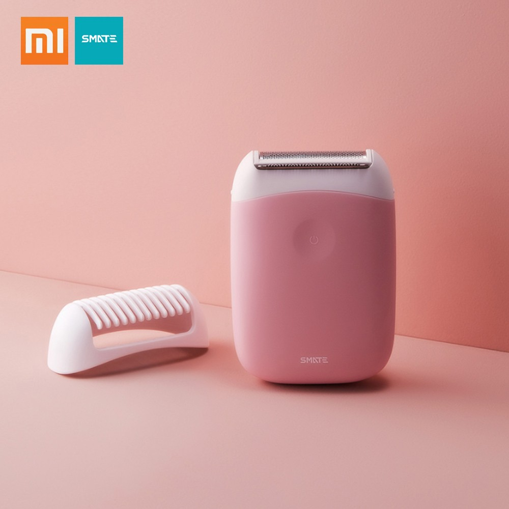 Xiaomi Smate Electric Epilator Mini Portable Hair Removal Trimmer Women USB Rechargeable Smooth Shaver Waterproof Epilator