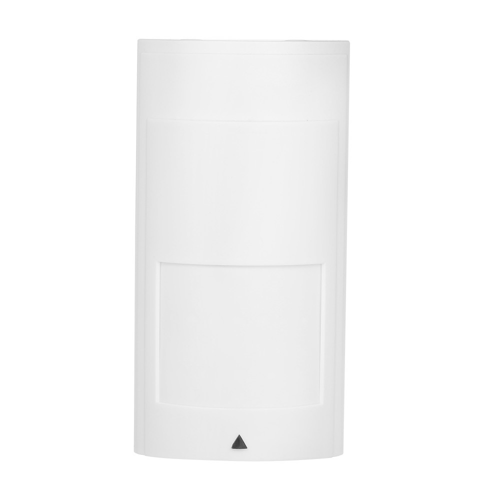 Wall Mounted Wired Infrared Motion and Microwave Detector Dual-tech PIR Motion Sensor NC Output For Home Burglar Security Alarm System