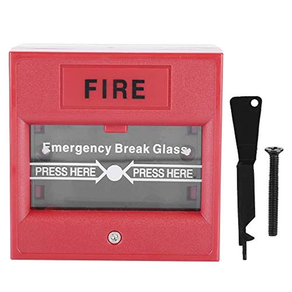 Emergency Door Release Glass Break Alarm Button Fire Alarm Swtich Break Glass Exit Release Switch