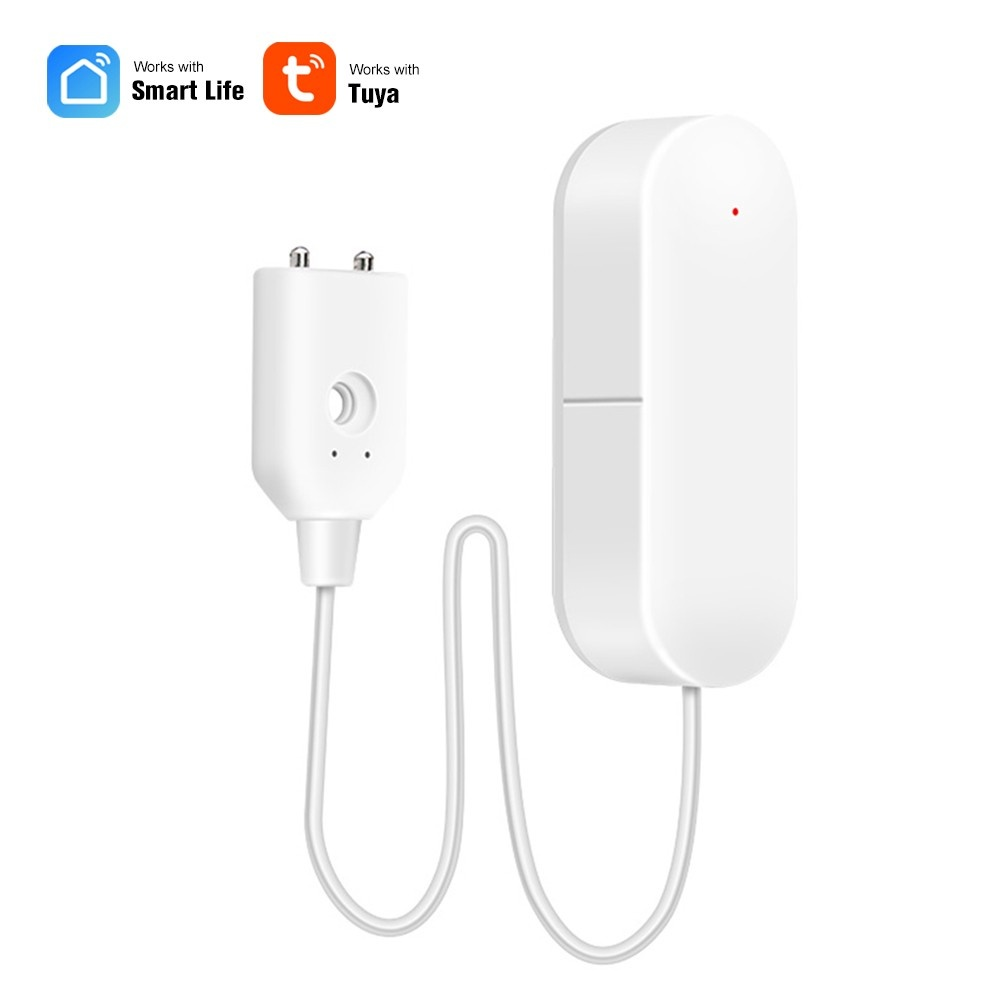 WIFI Water Leakage Detector Water Leak Sensor Wireless Water Level Detector Water Leak Alarm Sensor Home Waterproof Smart Remote Notification