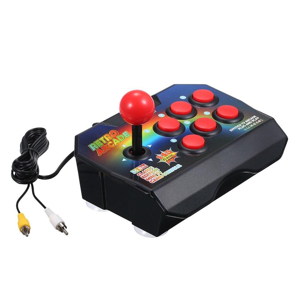 Retro Game Console 16 Bits Joystick Controller TV Game Box Arcade Built-in 145 Classic Video Games Machine