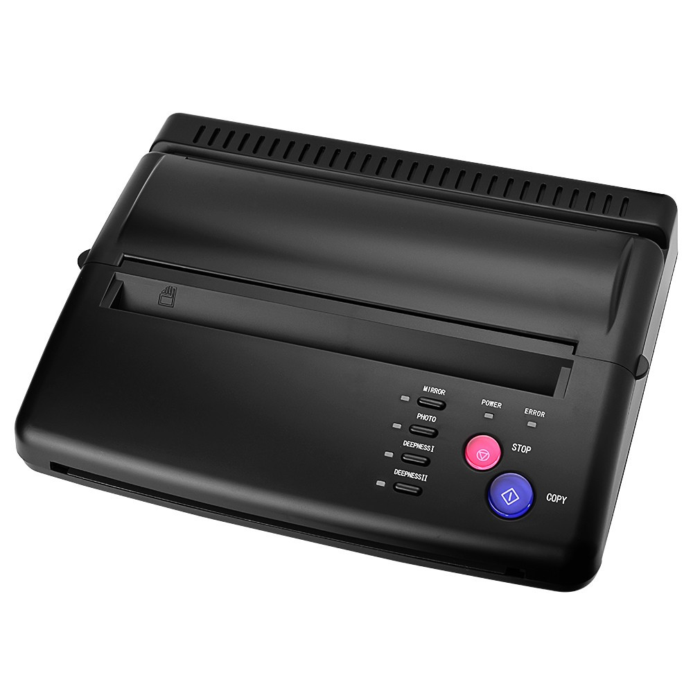 Tattoo Stencil Transfer Copier Printer Drawing Thermal Stencil Maker Copier for Tattoo Transfer Paper Permanent Tattoos Supplies