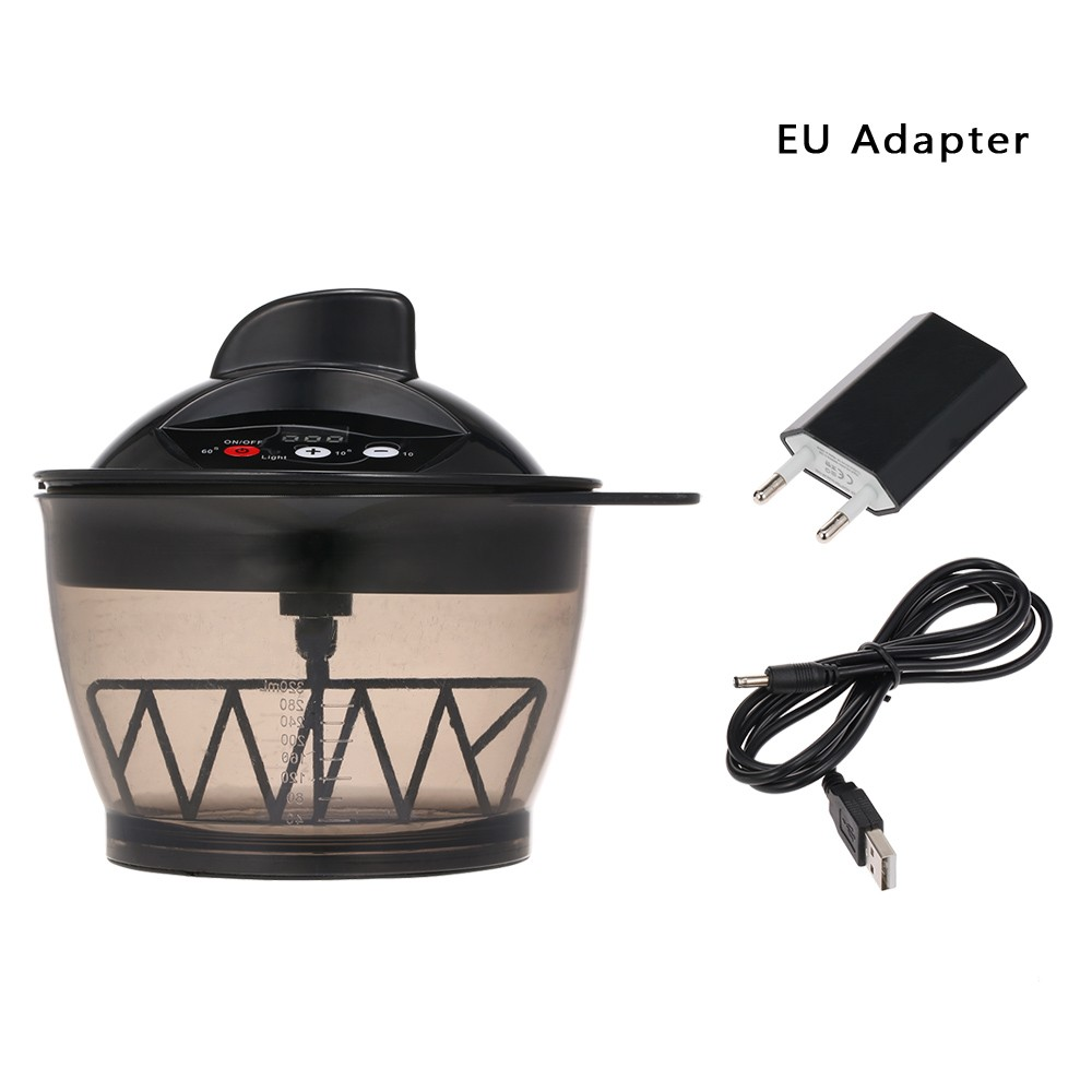 Electric Hair Coloring Bowl Electric Hair Cream Mixer Automatic Mixer for Hairs Color Mixing Hair Dyeing Kit DIY Tools