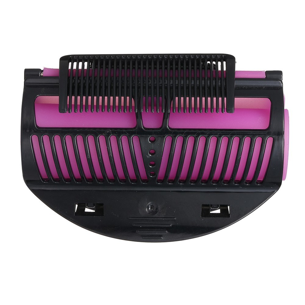 Hair Rollers Clip Perm  Rod Roller Clip with Comb Silicone Pads Insulation Salon Curling Maker Hair Dressing Tools
