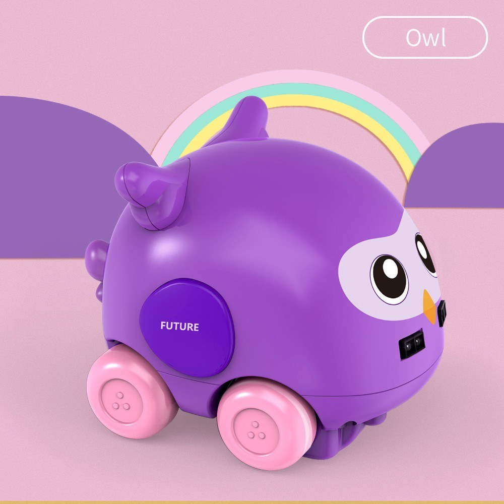 Cartoon Animal Car Hand Control Induction Following RC Car for Babies Gesture Sensor Cute Tracker Car Toy Obstacle Avoidance Xmas Christmas New Year Gifts for Boys Girls