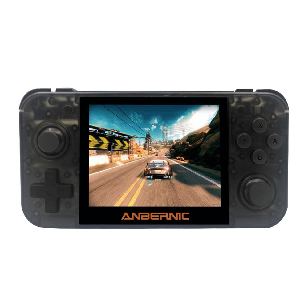 RG350 Retro Video Game Console 16GB Handheld Game Player 3.5-inch IPS Screen TV Output Rechargeable Support 32GB TF Card