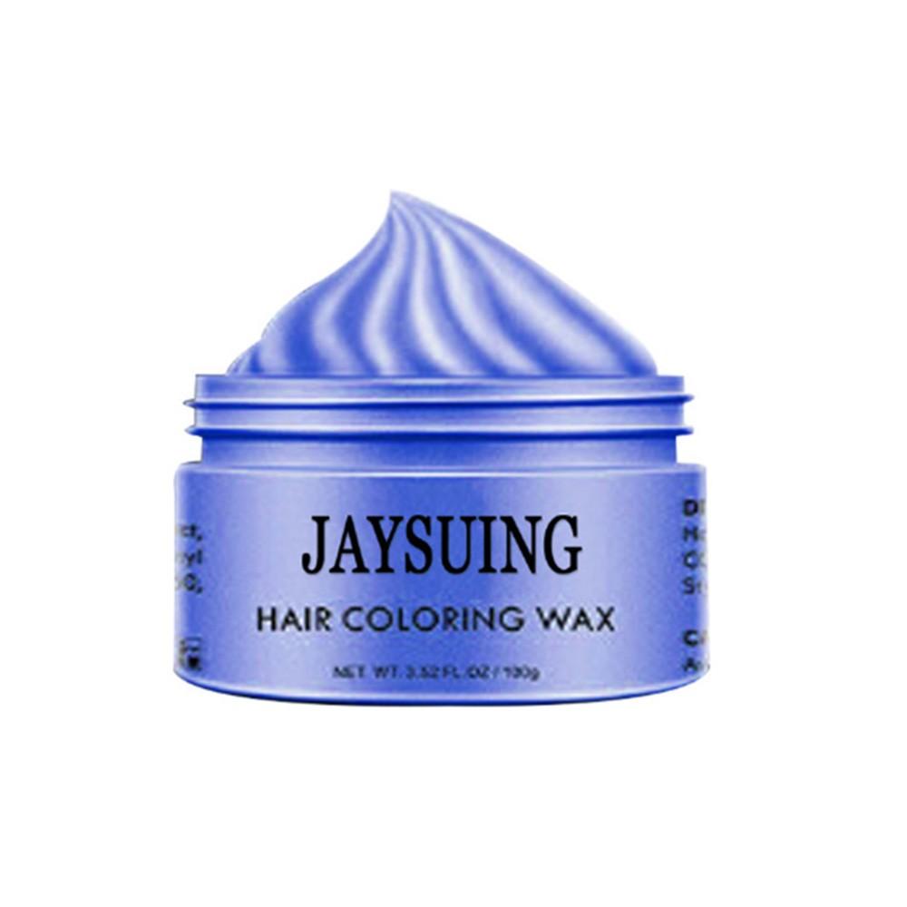 100g Natural Unisex DIY Hair Color Mud Cream Temporary Hair Clay Wax Dye Paint