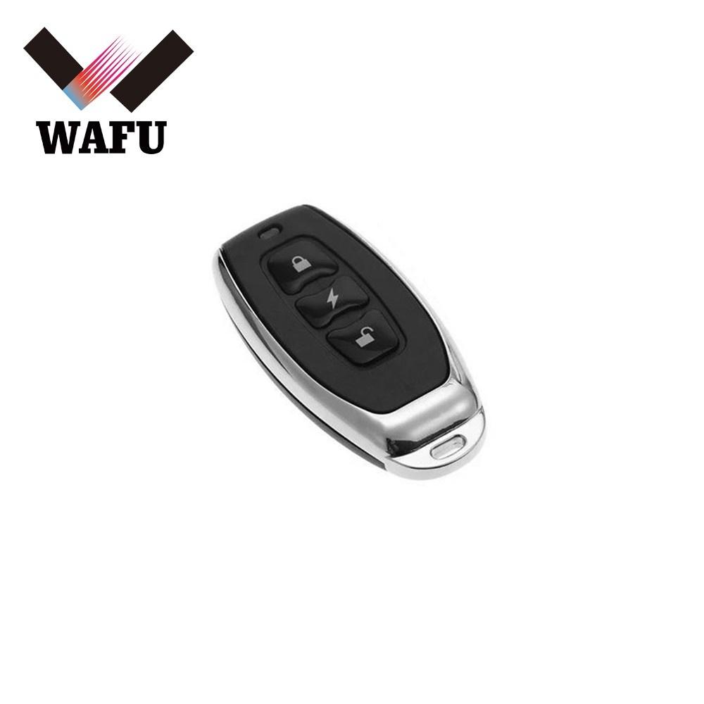 WAFU Wireless Remote Control Key 433MHz Remote Controller for Door Lock WF-010 or WF-010U Invisible Door Lock Smart Key