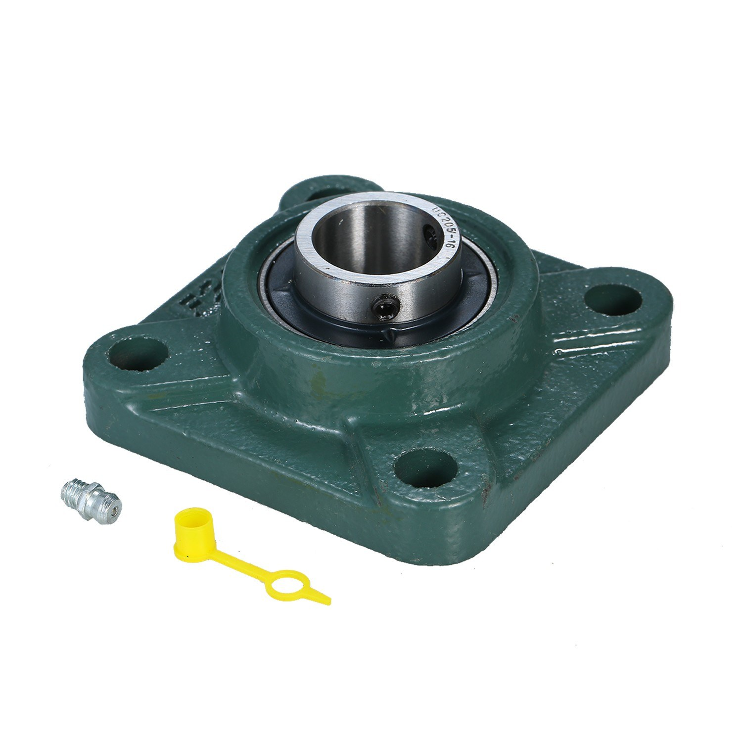 1 Inch 4 Bolts Pillow Block Square Flange Bearing UCF205-16 with Bearing Steel and Cast Iron Housing