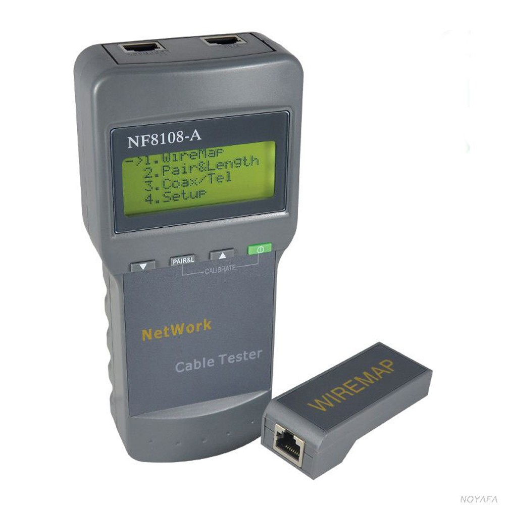 NF-8108 RJ45 Lan Tester Cable Tracker Redes Network Tools RJ45 Cable Length Measurement Tool