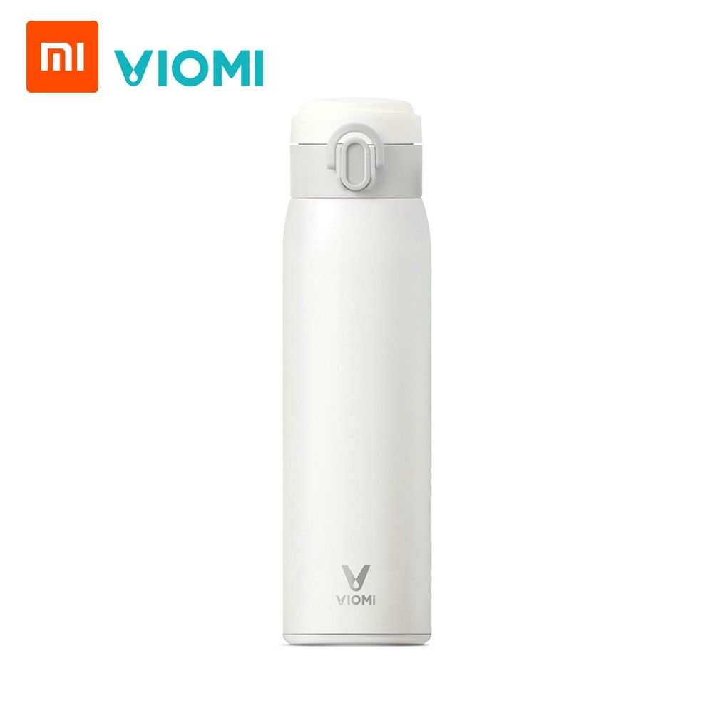 Xiaomi VIOMI Vacuum Flask 460ml Stainless Steel Vacuum Portable Insulation Thermoses BPA Free Thermal 24H Bottle Water Cup for School Office Travel