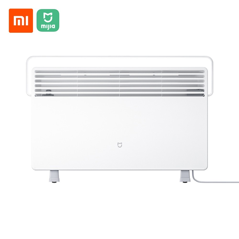 Xiaomi Mijia Electric Heater Quick Convenient Heater for Home Room Quick Convection Fireplace Fan Wall Heater Quiet Wall Warmer 2200W Thermostat Version