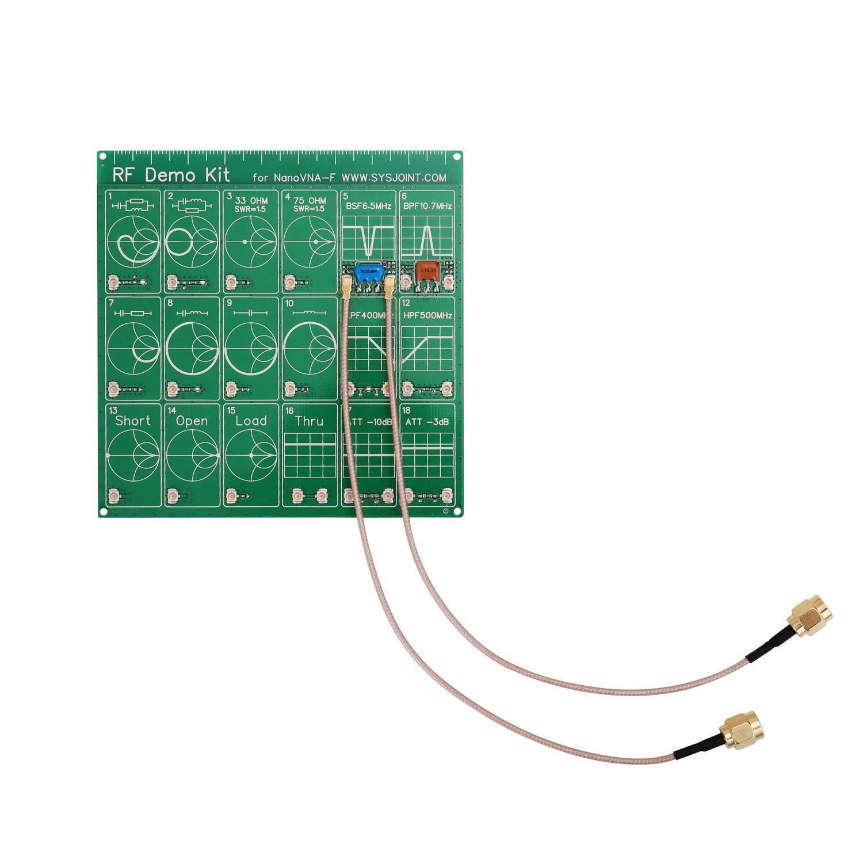 RF Demo Kit NanoVNA RF Tester Board Filter Attenuator for NanoVNA-F Vector Network Analyzer