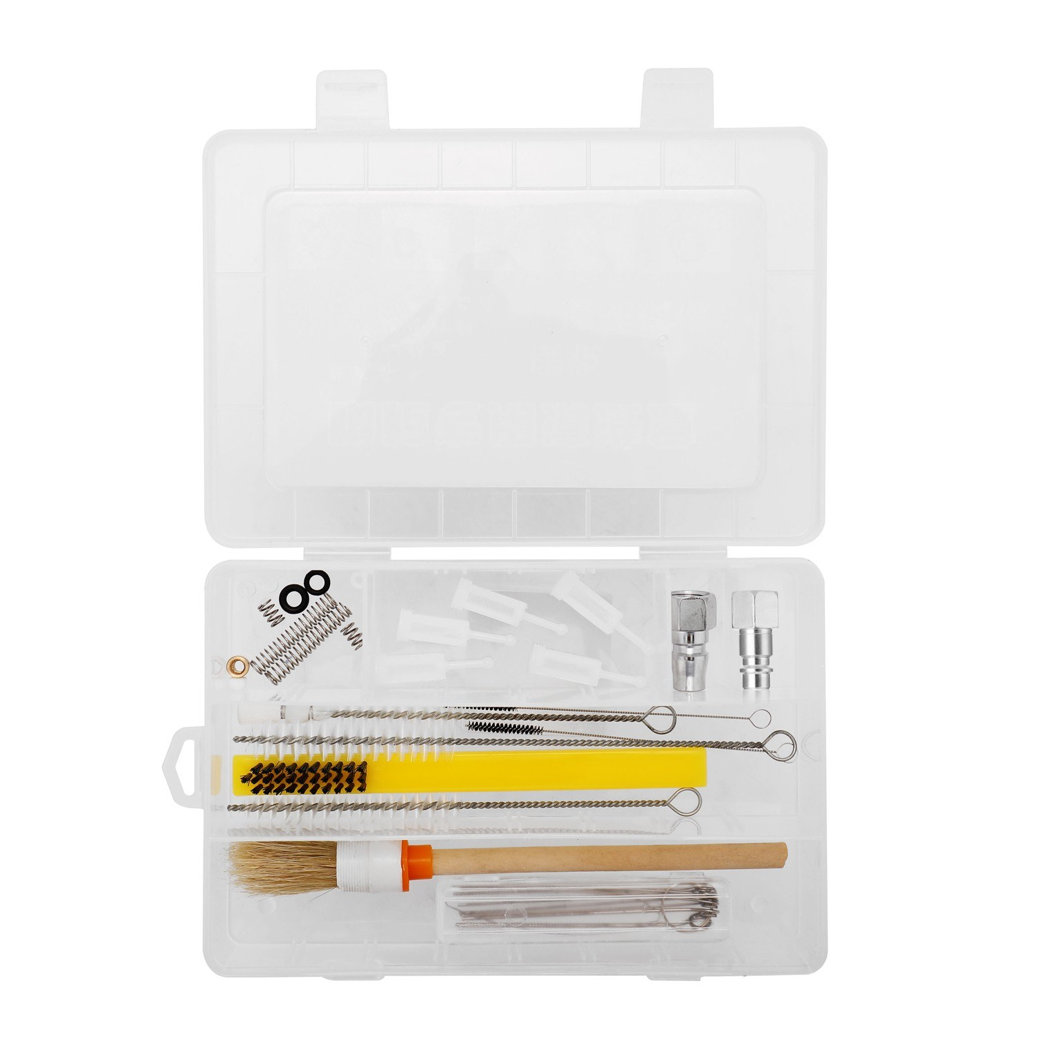 Professional Multifunctional Airbrush Special Cleaning Box Set Clean Spray Machine Kit with Connectors