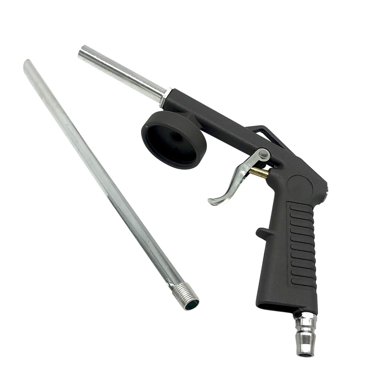 Air Undercoating Spray Gun Airbrush Paint for Automobile Chassis Glue Gun Aluminum Alloy Portable Sandblasting Sand Spray Gun
