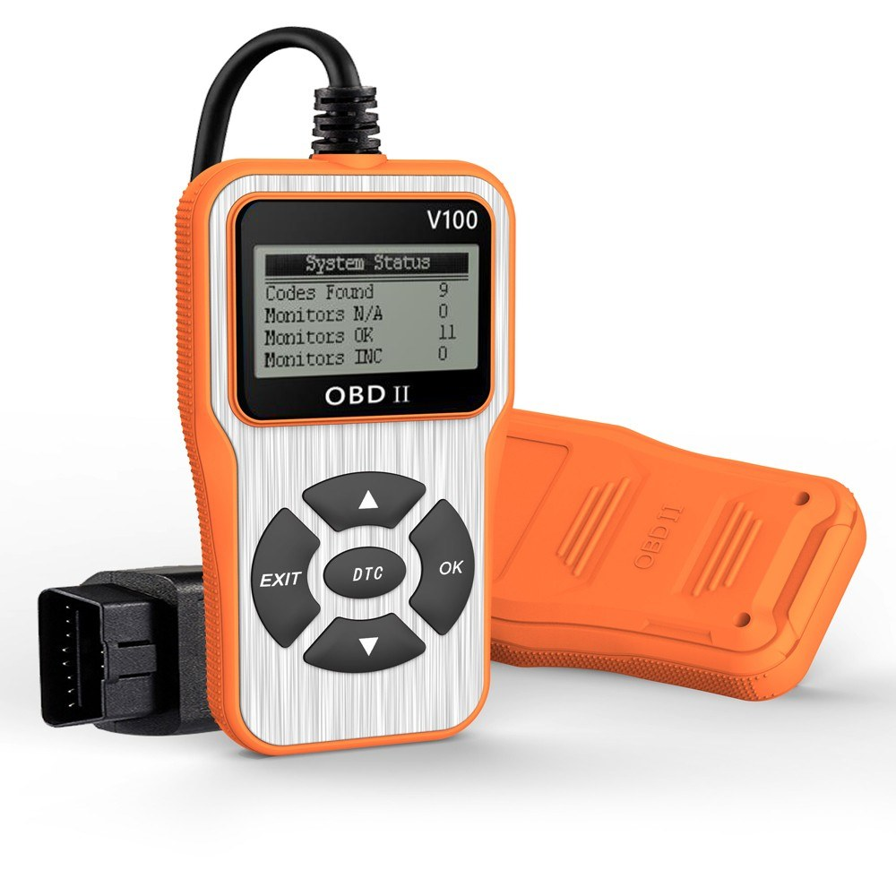 Auto Car Diagnostic Tool Scanner OBDⅡTool Car Automotive Erase/Reset Fault Codes Diagnostic Scanner Code Reader V100