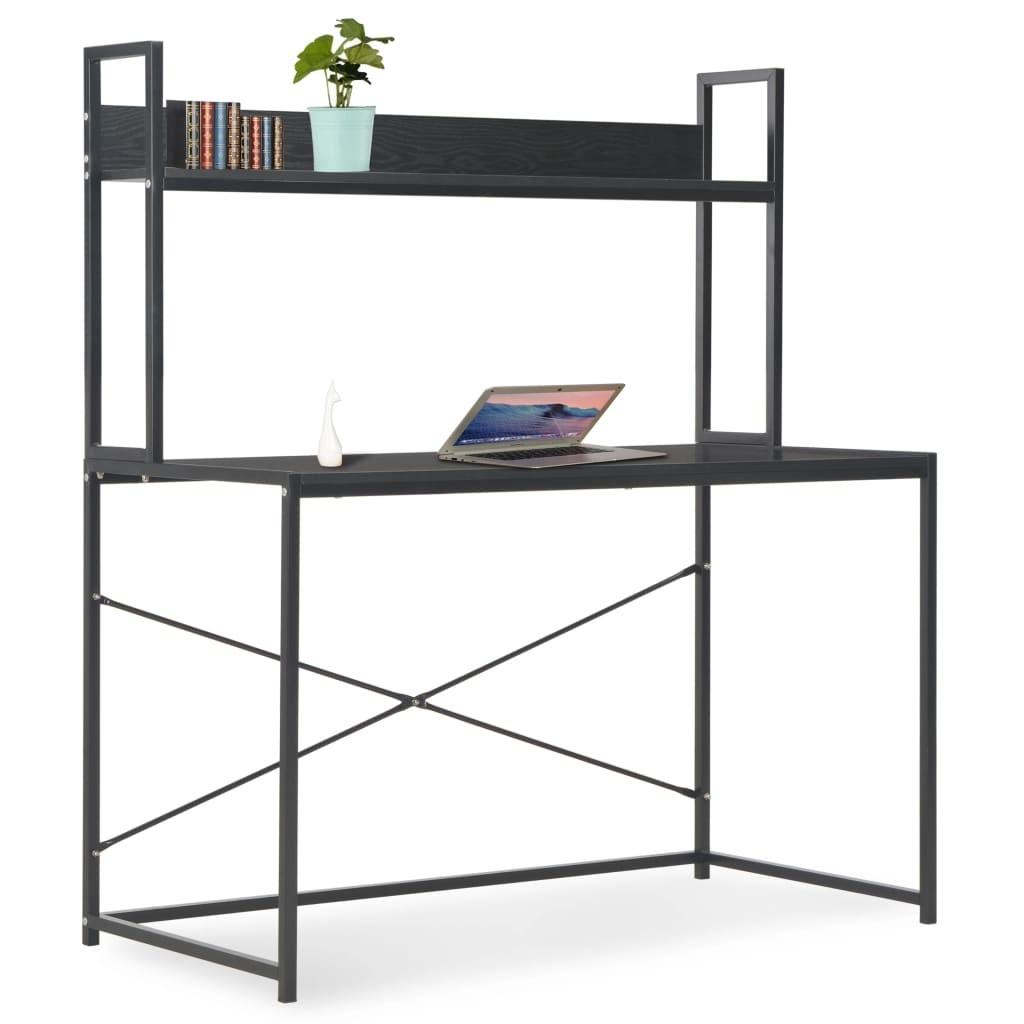 Computer table Black 120 × 60 × 138 cm