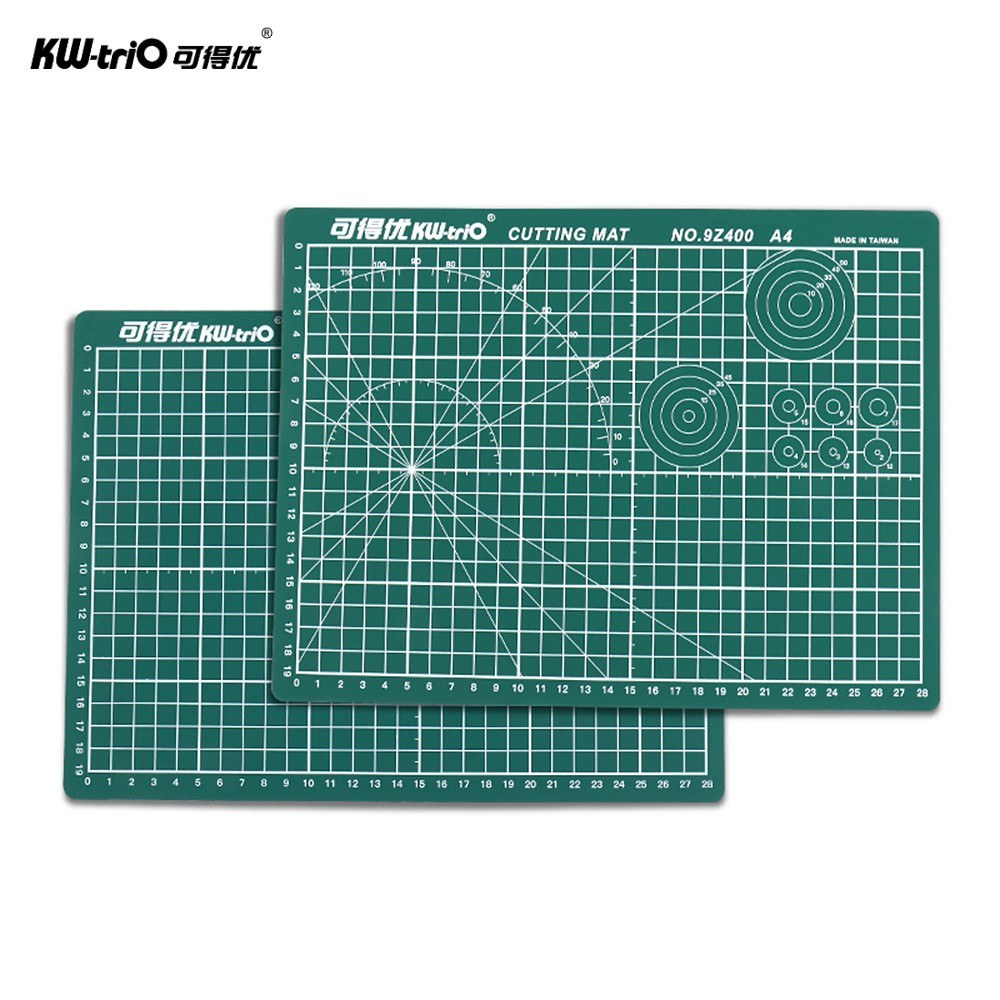 Self-Healing Rotary Cutting Mat Cutting Pad Patchwork Cut Pad Double Sided 5-Ply Mat with Max Healing for Cropping Sewing Quilting Craft A4 12