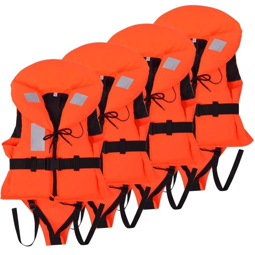Flotation aid vests for children 4 units 100 N 20-30 kg