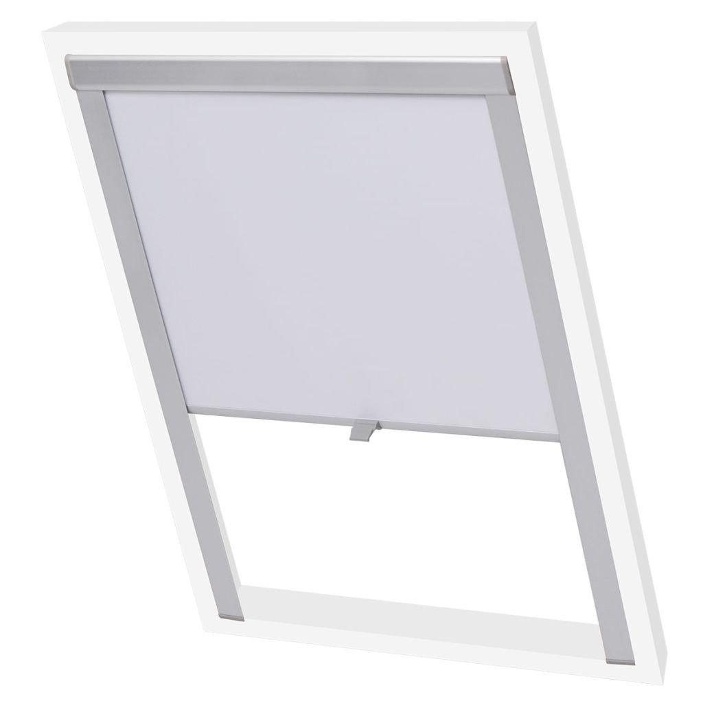 Blackout Roller Blinds White F06