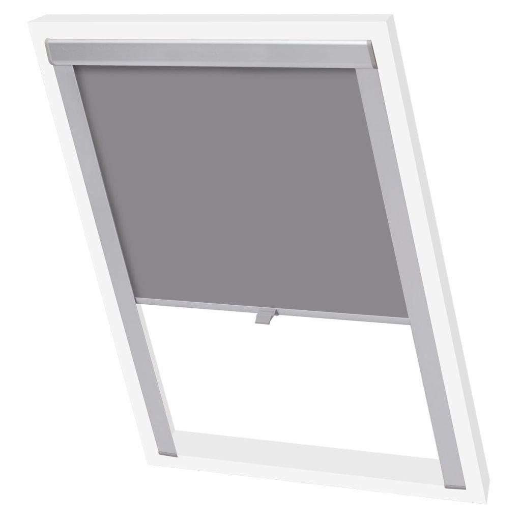 blackout roller blind Grey U08 / 808 / UK08