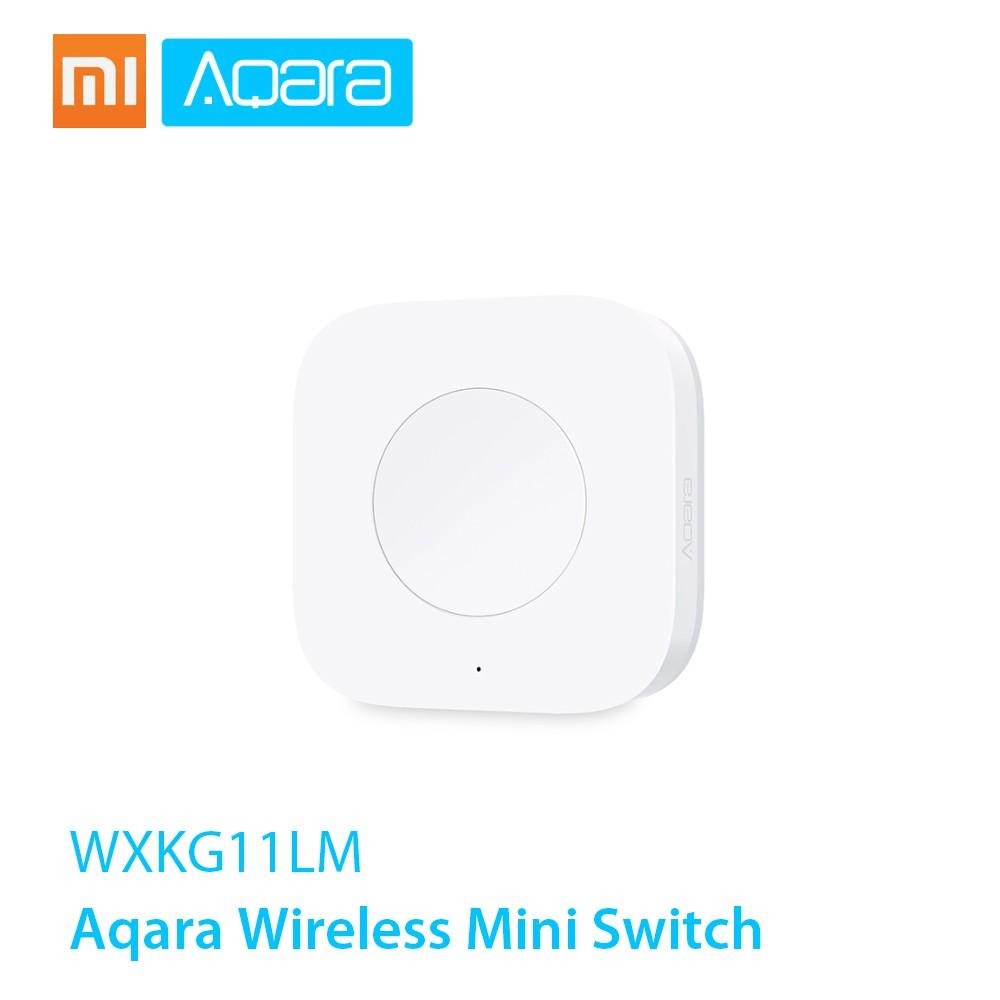 Xiaomi Aqara Wireless Mini Switch Zigbee System Remote Control Switch Use With Xiaomi Gateway Aqara Air Condictioner Partner