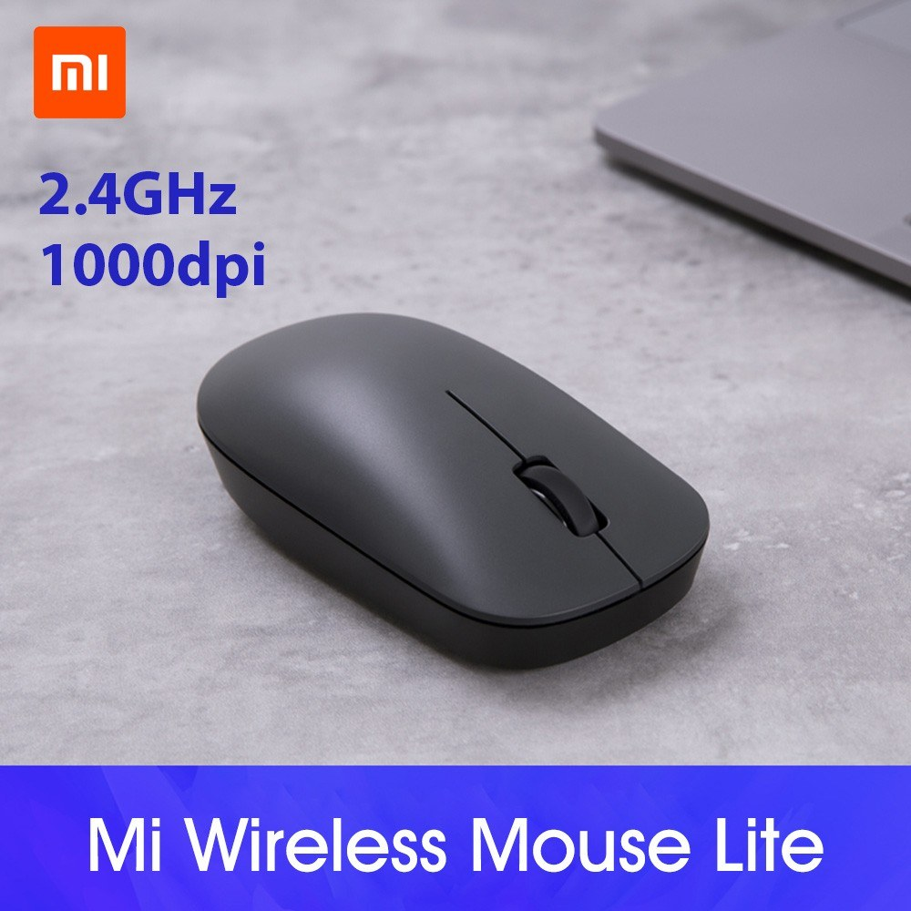 Xiaomi Wireless Mouse Lite Portable Game Mouse 1000dpi 2.4Ghz Wifi Link Optical Mouse Mini Notebook Laptop Mouse