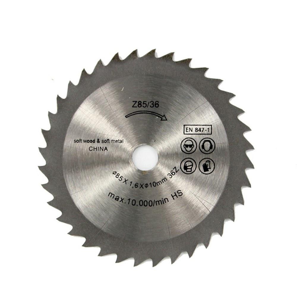 1pcs Out Diameter 85 mm 24 T Mini Circular Saw Knife Wheel Discs Wood Cutting Blade