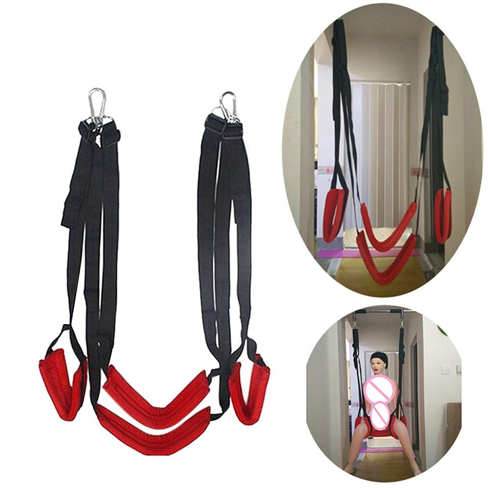 Sex Swing Game Chair Hanging Door Swing Bandage Flirt Erotic Toys Adult Sex Products for Couples