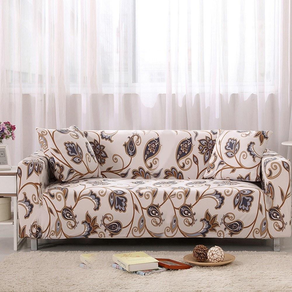 Sofa Cover Pillowcase Armrest Sofa Ptotector Stretch  Full Cover  All-Inclusive Slip Sofa Sheet