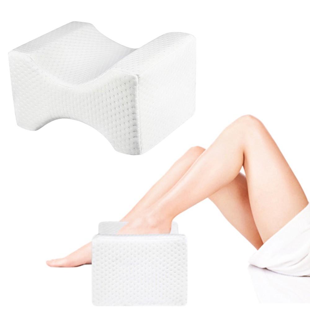 Knee Pillow Memory Foam Knee Leg Pillow Relieves Body Pain Helps Sleep